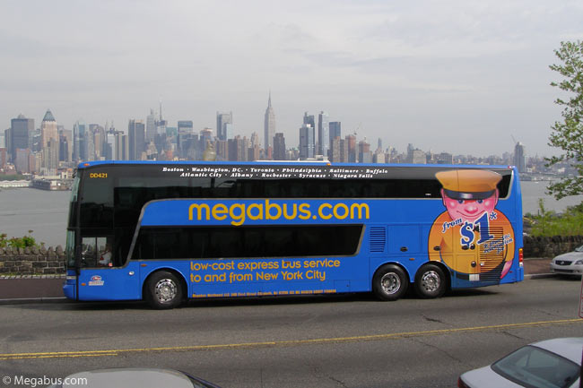 New York To Washington From Only 1 Los Angeles To San Francisco For 5 On Megabus Triphunters