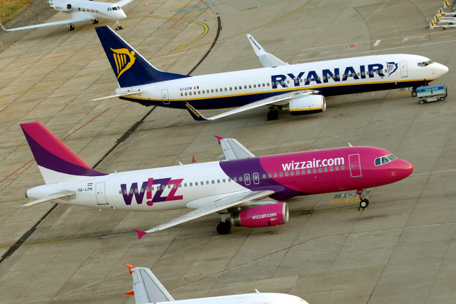 wizzair ryanair flights within europe from 3€