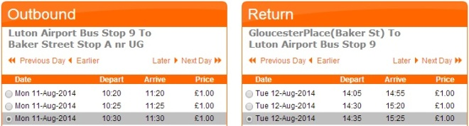 Airport Transfers to London City Center for only £1!