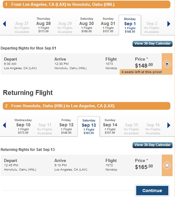 Aloha Hawaii from Europe for €437 - roundtrip
