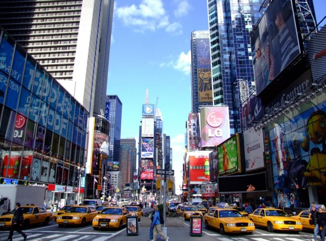 New York from Europe for €257 - round trip