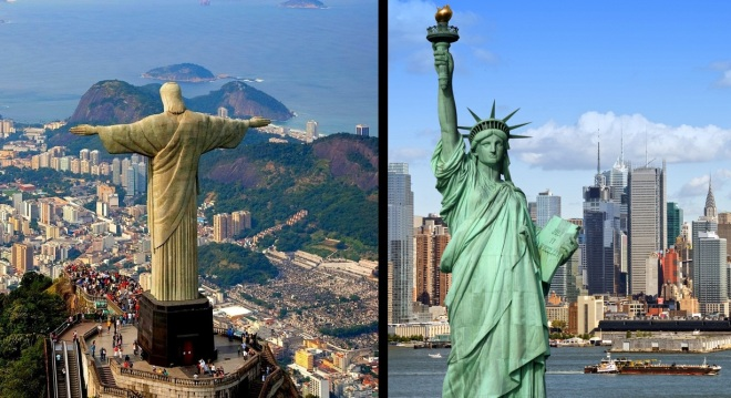 Visit USA & Brazil on one Flight Ticket from Europe for €428