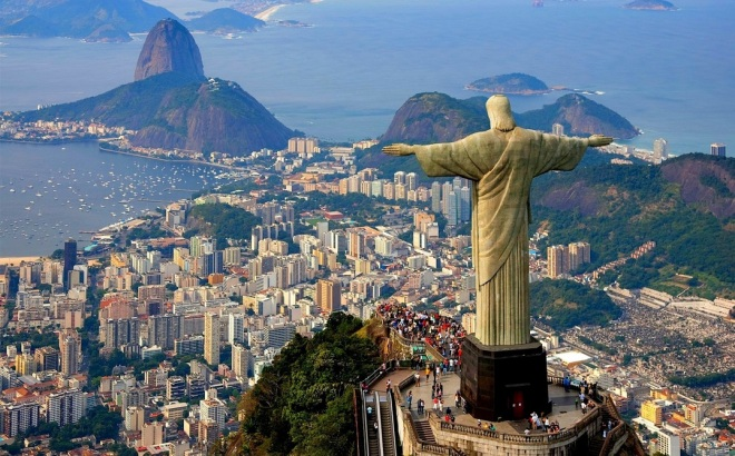 Brazil from Europe for €335 - round trip