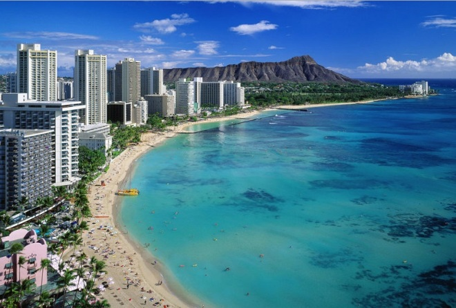 Hawaii €515 - return