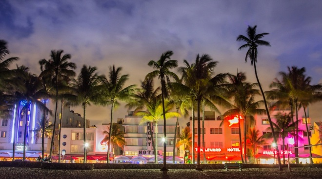 New York+Miami from Europe €287