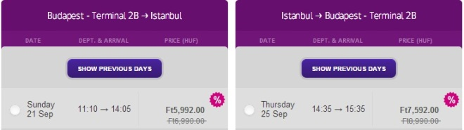 Only Today 20% off from every Wizzair Flight