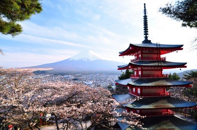 Japan €287 - return
