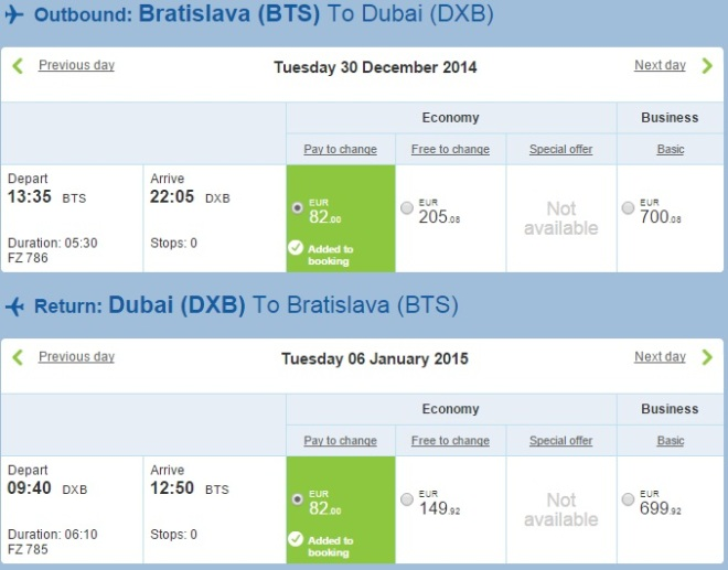 New Year's Eve in Dubai €167 - n